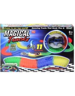 Конструктор Гоночная трасса Magic Tracks 128 деталей