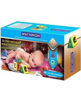 3D Магнитный конструктор Магникон - Магникоша+ (MK-10)