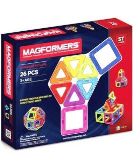Магнитный конструктор Magformers Базовый набор, 26 элементов