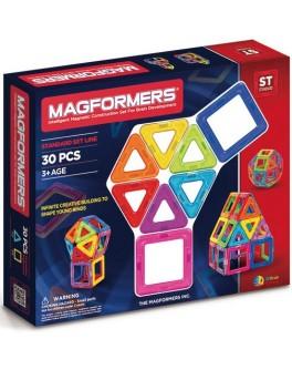 Магнитный конструктор Magformers Базовый набор, 30 элементов