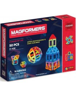 Магнитный конструктор Magformers Базовый набор, 50 элементов - ITT 701006