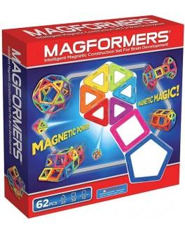 Магнитный конструктор Magformers Базовый набор 62 элемента
