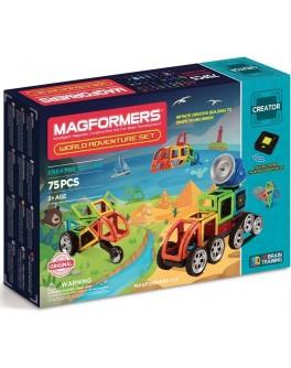 Магнитный конструктор Magformers Кругосветное путешествие, 75 элементов - ITT 703013