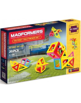 Магнитный конструктор Magformers Маленькие друзья, 20 элементов - ITT 702004
