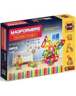 Магнитный конструктор Magformers Мой первый набор, 54 элемента - ITT 702002