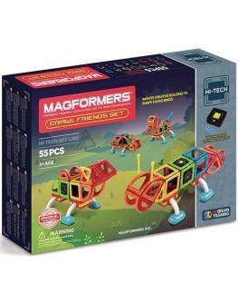 Магнитный конструктор Magformers Рептилии, 55 элементов - ITT 709006