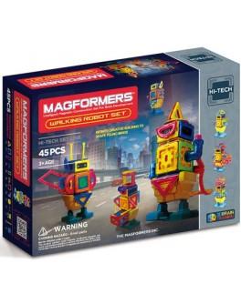 Магнитный конструктор Magformers Шагающий робот, 45 элементов