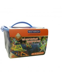 3D Магнитный конструктор Магникон на 48 деталей