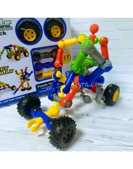 Конструктор шарнірний Stick building block Super Racing на 33 деталі та 4 колеса (SY9911)
