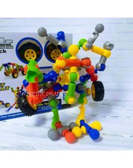 Конструктор шарнірний Stick building block Super robot 2, 36 деталей (SY9914)