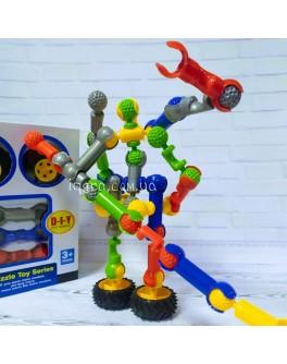 Конструктор шарнірний Stick building block Super robot 3, 30 деталей (SY9915)