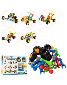 Конструктор Stick building block Транспорт 24 деталей и колеса