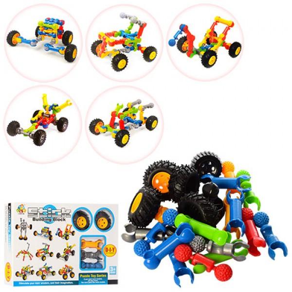 конструктор Stick building block транспорт SY9901-9905
