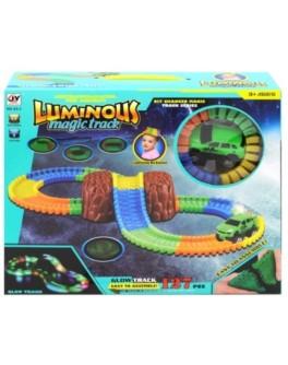 Светящийся трек с машинкой Luminous Magic Track A5-3
