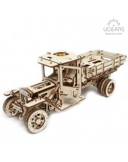 Конструктор Механический 3d-пазл UGears Грузовик UGM-11 - UG 70015