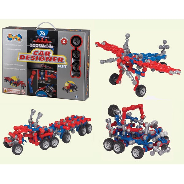 фото ZOOB Mobile Car Designer Kit - Kklab 12052