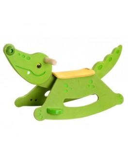 Деревянная игрушка Крокодил-качалка Plan Toys (3609) - plant 3609