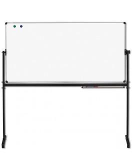 Доска оборотно-мобильная Office 150x100 см, для маркера/ для мела / комбинированная - abc 711050