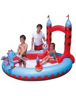 Игровой центр Замок Дракона, интерактивный с душем, 221х193х150 см - ves 53037