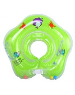 Круг надувний для купання немовлят Huada Toys зелений (С 29114)