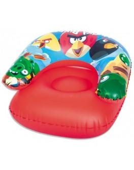 Детское кресло надувное Bestway Angry Birds (96106)