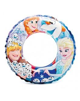 Детский надувной круг Intex Холодное сердце 51 см (56201)