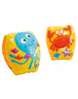Нарукавники Intex Крабик 20х15 см для детей 3-6 лет (56662)
