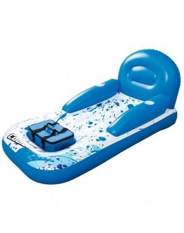 Шезлонг надувной для плавания с термосумкой BestWay (43130)