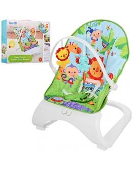 Шезлонг для новорожденных Джунгли Bambi - mpl M 3251