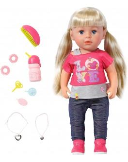 Кукла BABY BORN - СТАРШАЯ СЕСТРЁНКА (43 см, с аксессуарами)