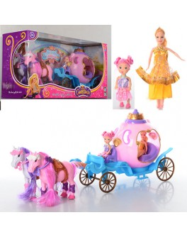 Игровой набор Bambi Карета с лошадками (686-689) - mpl 686-689