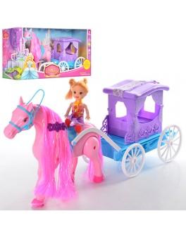 Игровой набор Bambi Карета с лошадкой (686-714) - mlt 686-714