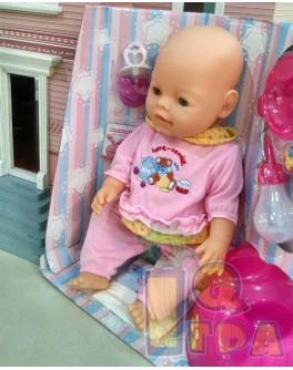 Кукла Baby Born в розовой пижамке (M 0240 U/R-3)