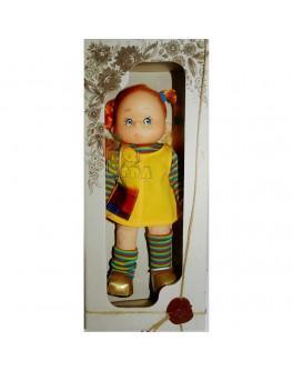 """Мягконабивная кукла """"Пеппи Длинный Чулок"""", 30 см - alb B001"""