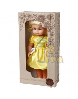"Кукла ""МИЛАНА НАРЯДНАЯ"" (40 см), желтое платье"