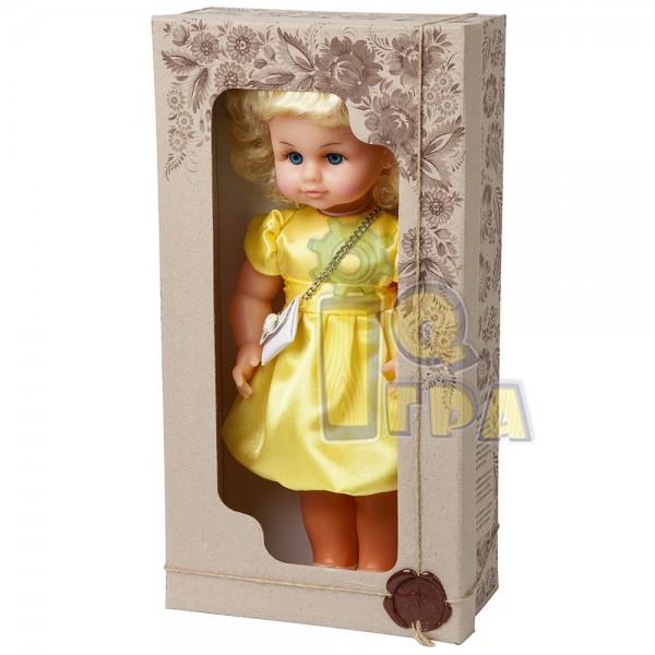 """фото Кукла """"МИЛАНА НАРЯДНАЯ"""" (40 см), желтое платье - alb В202/Ж"""