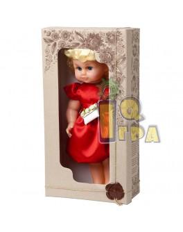 """Кукла """"МИЛАНА НАРЯДНАЯ"""" (40 см), красное платье - alb В202/К"""