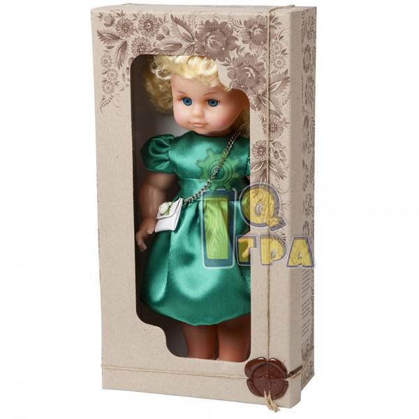"""фото Кукла """"МИЛАНА НАРЯДНАЯ"""" (40 см), зеленое платье - alb В202/3"""