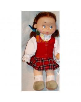"""Мягконабивная кукла """"Яся школьница"""", 30 см - alb В103"""