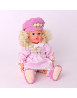 "Мягконабивная кукла ""Анечка"", 47см - alb B140"