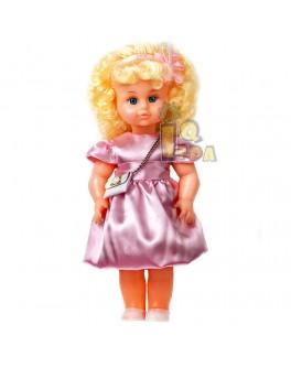 """Кукла """"МИЛАНА НАРЯДНАЯ"""" (40 см), розовое платье - alb В202/Р"""