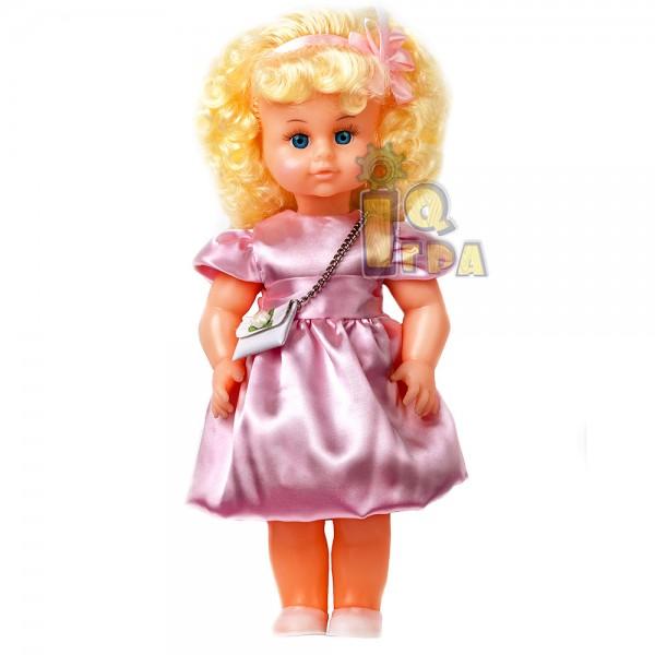 """фото Кукла """"МИЛАНА НАРЯДНАЯ"""" (40 см), розовое платье - alb В202/Р"""