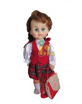 """Кукла """"МИЛАНА ШКОЛЬНИЦА"""", 40 см - alb b203"""