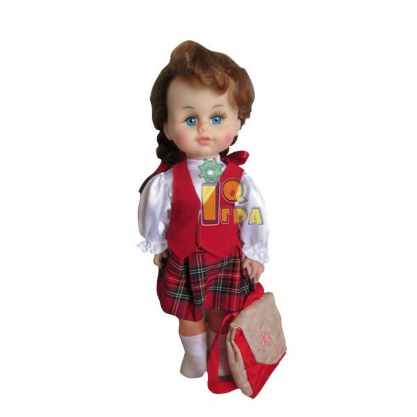"фото Кукла ""МИЛАНА ШКОЛЬНИЦА"", 40 см - alb b203"