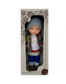 Кукла Гуцул, 35 см - alb B225/4