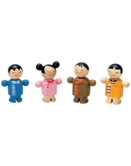 Деревянная игрушка Городская семья Plan Toys (6074) - plant 6074