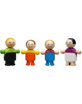 Деревянная игрушка Обычная семья Plan Toys (6038) - plant 6038