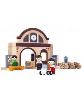 Деревянная игрушка Вокзал Plan Toys (6620) - plant 6620