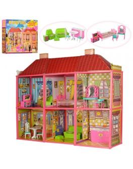 Дом Барби двухэтажный с мебелью My Lovely Villa