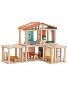 Деревянный кукольный домик-конструктор Plan Toys (7610)